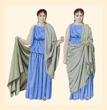 Tunic Dress on Headcovering Customs Of The Ancient World