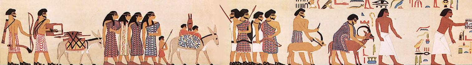Pics for egyptian wall art women for Beni hasan mural