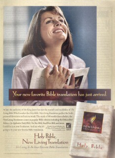Advertisement for the New Living Translation
